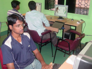 Utkal Gaurab Nanda - The Lead Animator from IDMT.IN Utkal Cartoon World - Animation Studio is working on an animation project