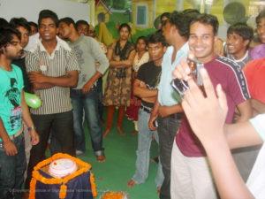 IDMT students celebrating Foundation Day