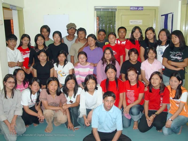 Digital Media Technology Students from Govt of Bhutan