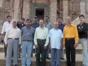 Visit to Konark by IDMT Production Team making Dharmapada.