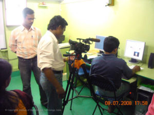 Dharmapada Production process coverage by ETV News Team