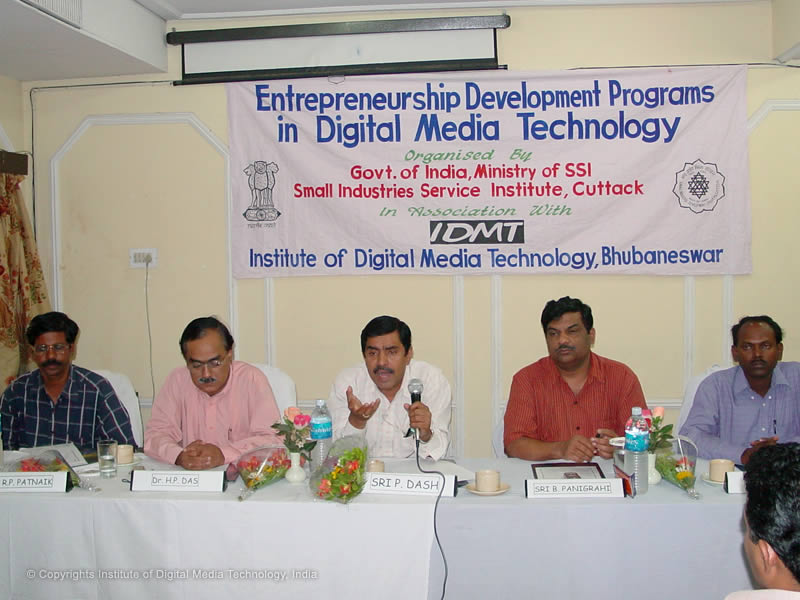 EDP program at IDMT in association with MSME