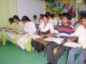 IDMT Students in the Class Room