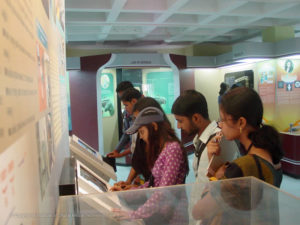 IDMT Students study Tour to Regional Science Centre