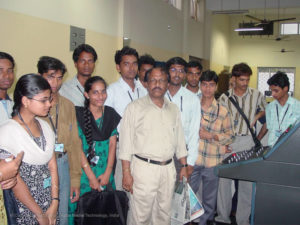 IDMT Students study Tour to Dharitri a leading News paper of Odisha