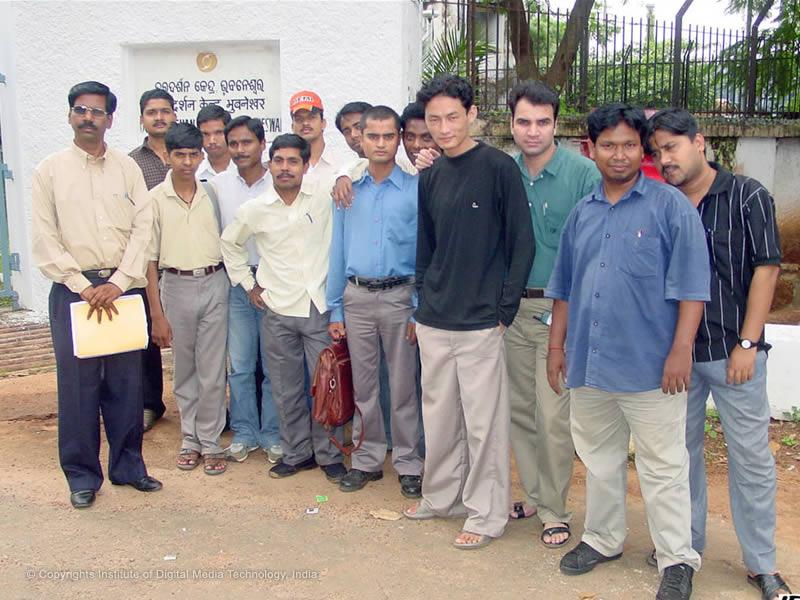 IDMT Students to Doordarshan Studio Bhubaneswar